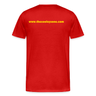 T-Shirts ~ Men's Premium T-Shirt ~ Chris Cooley is my Life Coach XXXL Red