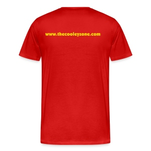 Chris Cooley is my Life Coach XXXL Red - Men's Premium T-Shirt