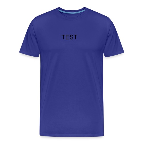 THE TEST - Men's Premium T-Shirt
