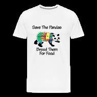 T-Shirts ~ Men's Premium T-Shirt ~ Panda Breeding