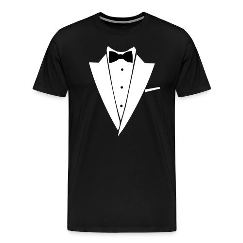 Tuxedo Tee - Men's Premium T-Shirt