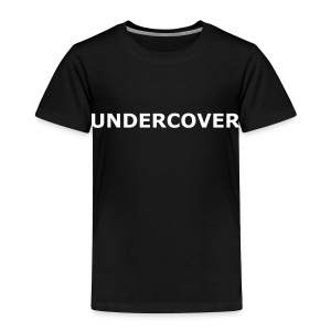 UNDERCOVER Kids Tee - Toddler Premium T-Shirt