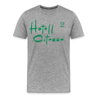 T-Shirts ~ Men's Premium T-Shirt ~ now in the US, welcome to Hotel Citroen