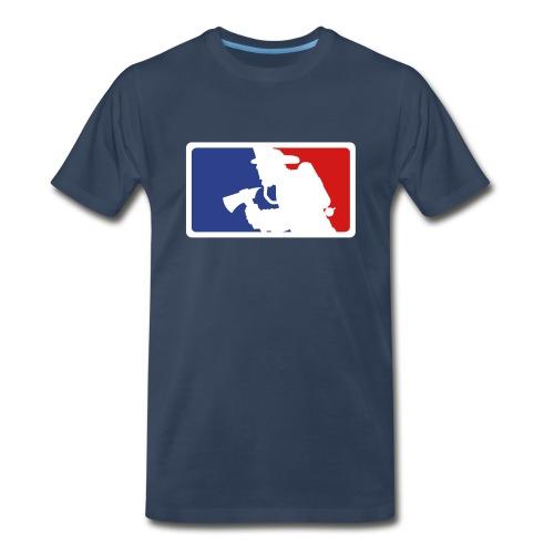 Men's Firefighter SS T-shirt - Men's Premium T-Shirt