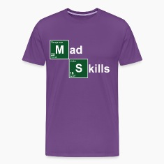Purple Mad Skills T-Shirts