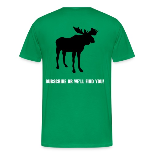 green moose - Men's Premium T-Shirt