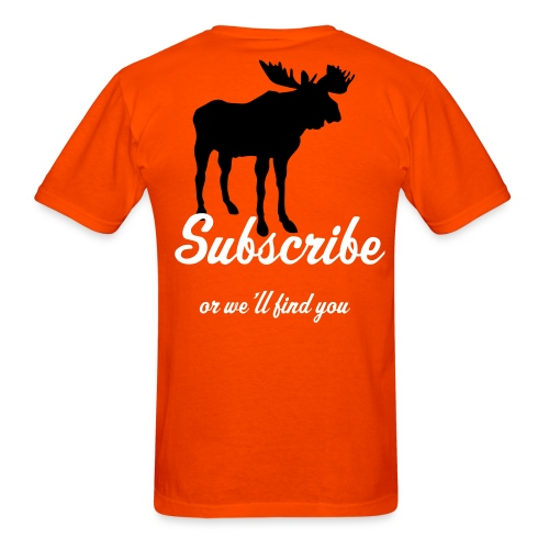 orange moose - Men's T-Shirt