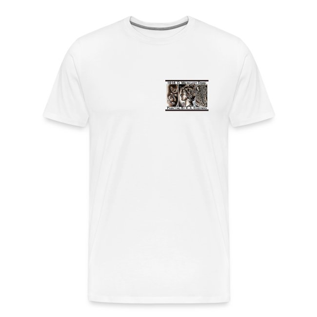 1916 D Mercury Dime Men's T-shirt