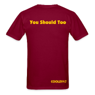 T-Shirts ~ Men's T-Shirt ~ I Hate Dallas Burgundy