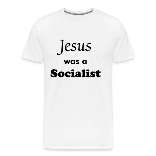JC Socialst - white tee - Men's Premium T-Shirt
