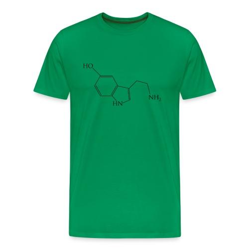 Seritonin Molecule - Men's Premium T-Shirt