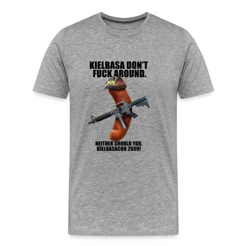 [R Rated] KielbasaCon 2009 Ultimate Shirt : Men - Men's Premium T-Shirt