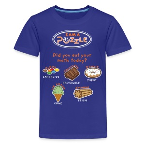 Did you EAT your math today?   - Kids' Premium T-Shirt