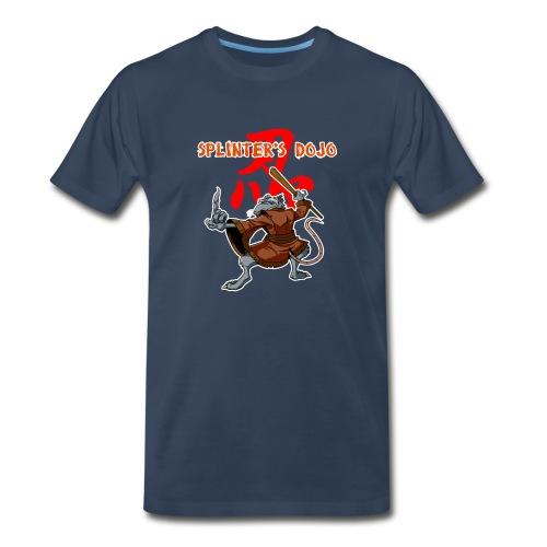 Splinters Dojo Mens T-Shirt All Colors - Men's Premium T-Shirt