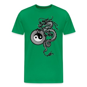 Men's Tai Chi Dragon - Men's Premium T-Shirt