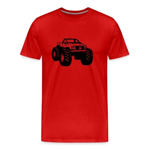 BEAR PAW BIG FOOT - Men's Premium T-Shirt