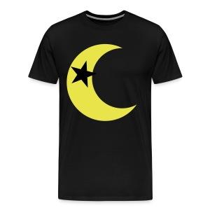 Star Inside the Moon Tee - Men's Premium T-Shirt