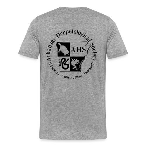 AHS Logo Front and Back - Men's Premium T-Shirt