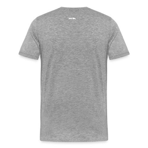GREY- MN STATE - US EAGLE - SMILEY - SALUTE - Men's Premium T-Shirt