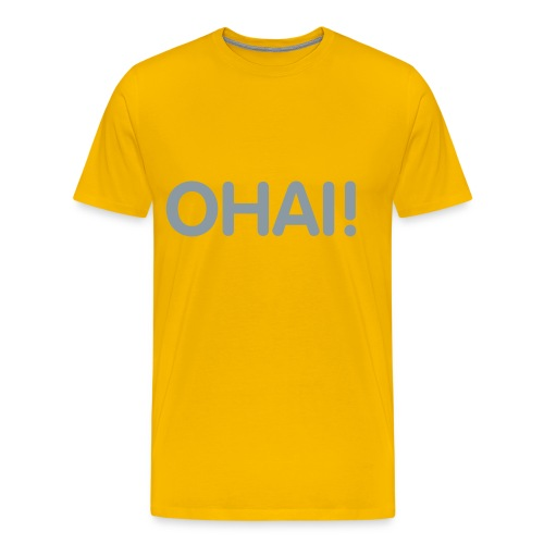 ohai its arrival - Men's Premium T-Shirt