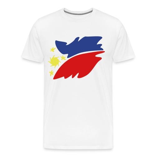White RP - Men's Premium T-Shirt