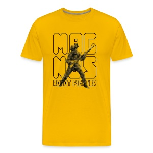 Magnus Robot Fighter - Men's Premium T-Shirt