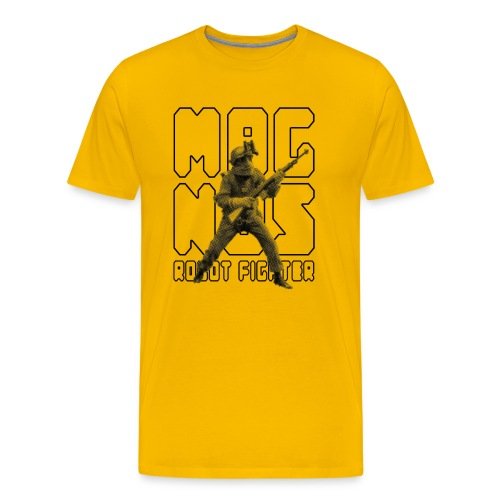 Magnus Robot Fighter - Men's Premium T-Shirt