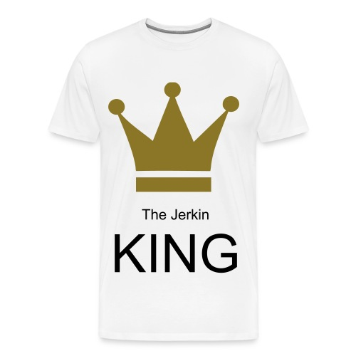 The Jerkin King - Men's Premium T-Shirt