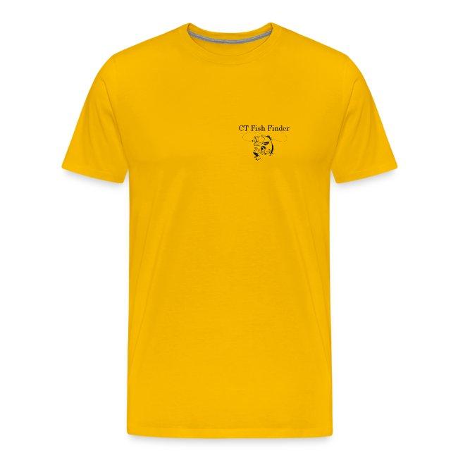 CT Fish Finder T-Shirt (Yellow)