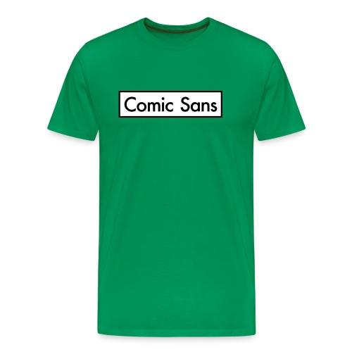 Comic Sans Appreciation #2 - Men's Premium T-Shirt