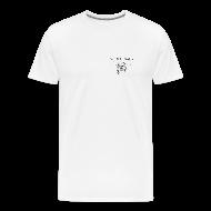 T-Shirts ~ Men's Premium T-Shirt ~ NJ Fish Finder T-Shirt (Natural)