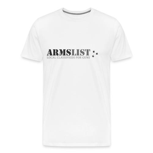 ARMSLIST Logo Tee XXXL - Men's Premium T-Shirt