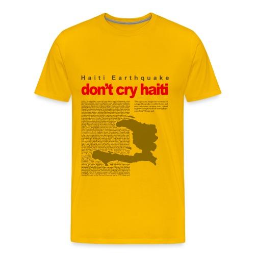 Haiti Tee - Men's Premium T-Shirt