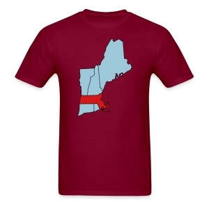 The Texas of New England (heavyweight) - Men's T-Shirt