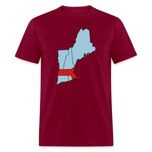 The Texas of New England (heavyweight) - Men's T-Shirt