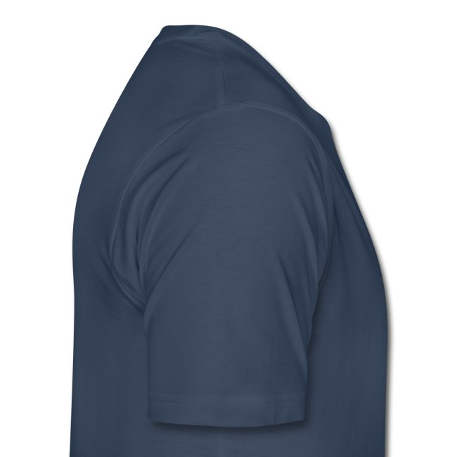 Twainiac Dark Blue Shirt + White Font