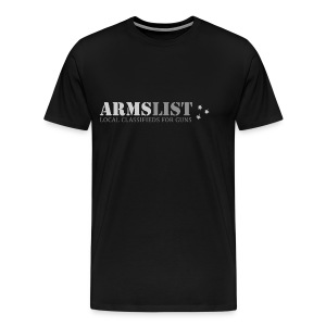 ARMSLIST Logo Tee - Heavyweight - Men's Premium T-Shirt