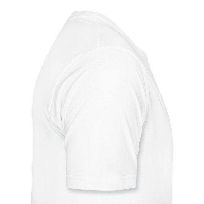 Twainiac White Shirt + Pink Font
