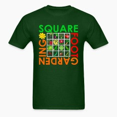 Forest green Square Foot Gardening T-Shirts