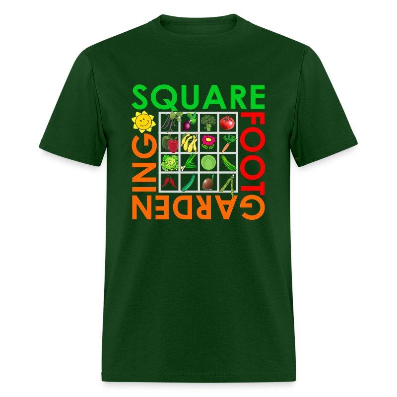 Square Foot Gardening T Shirt Spreadshirt