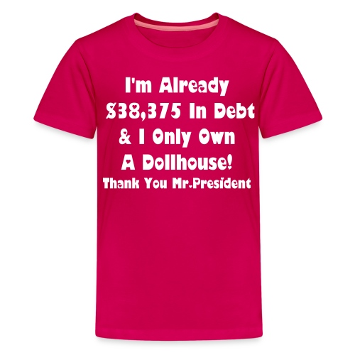 Hot Pink My Dollhouse Heart - Kids' Premium T-Shirt
