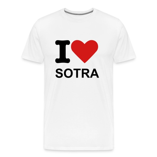 I love SOTRA - Men's Premium T-Shirt