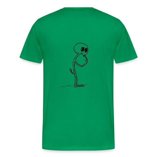 Aliens T shirt - Discover The Modern Caveman