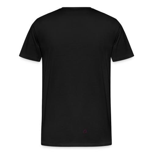 Fick Ja Airride - White/Black - Men's Premium T-Shirt