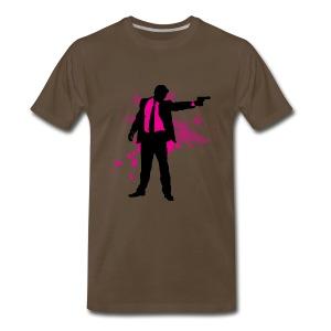 mr pink - Men's Premium T-Shirt