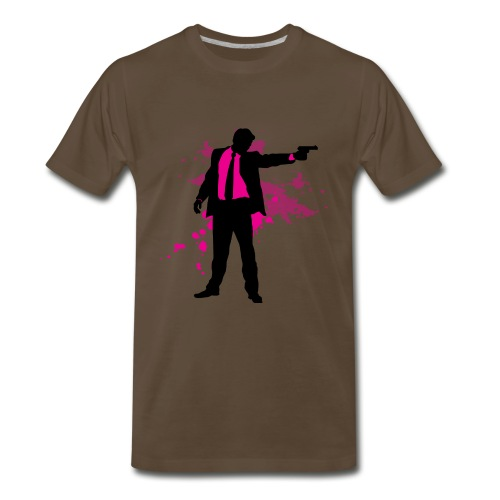 mr pink - Men's Premium T-Shirt