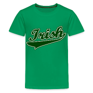 Kids' Shirts ~ Kids' Premium T-Shirt ~ Irish Kids T-Shirt, Green St Patrick's Day T-Shirt