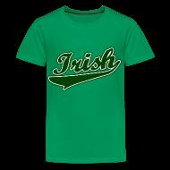 Kids' Shirts ~ Kids' Premium T-Shirt ~ Irish Kids T-Shirt, Green St Patrick's Day T-Shirt