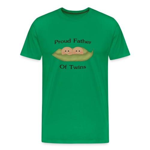 Dad Of Twins - Men's Premium T-Shirt