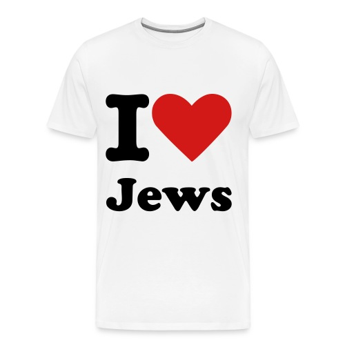 I Heart Jews - Men's Premium T-Shirt